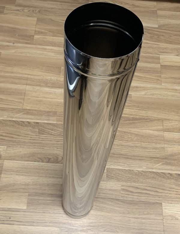 Tubo Inox 1m