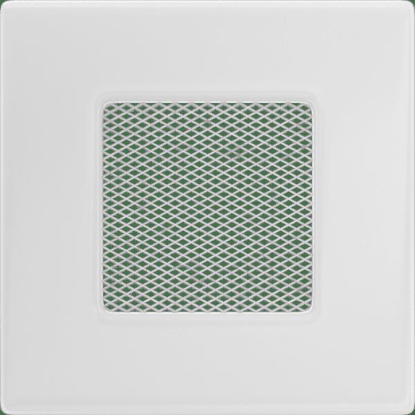 Grelha ventilação rectangular 11x11mm