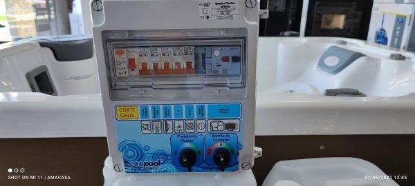 Quadro Elétrico com transformador para piscina Ecopool